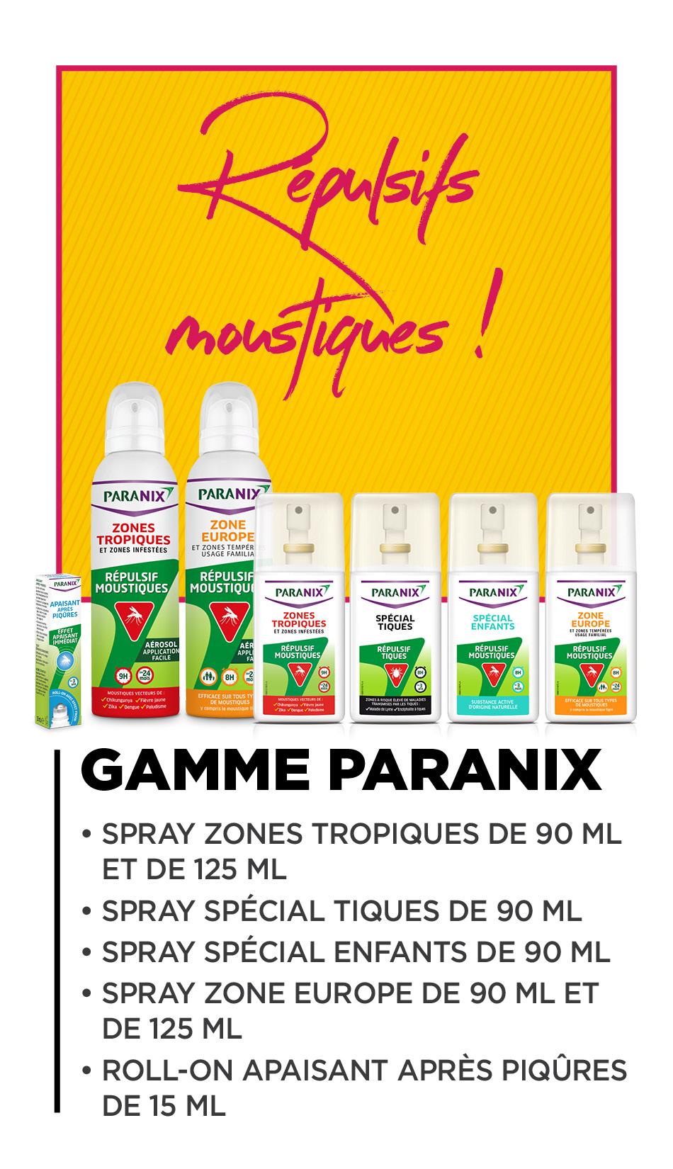Gamme Paranix