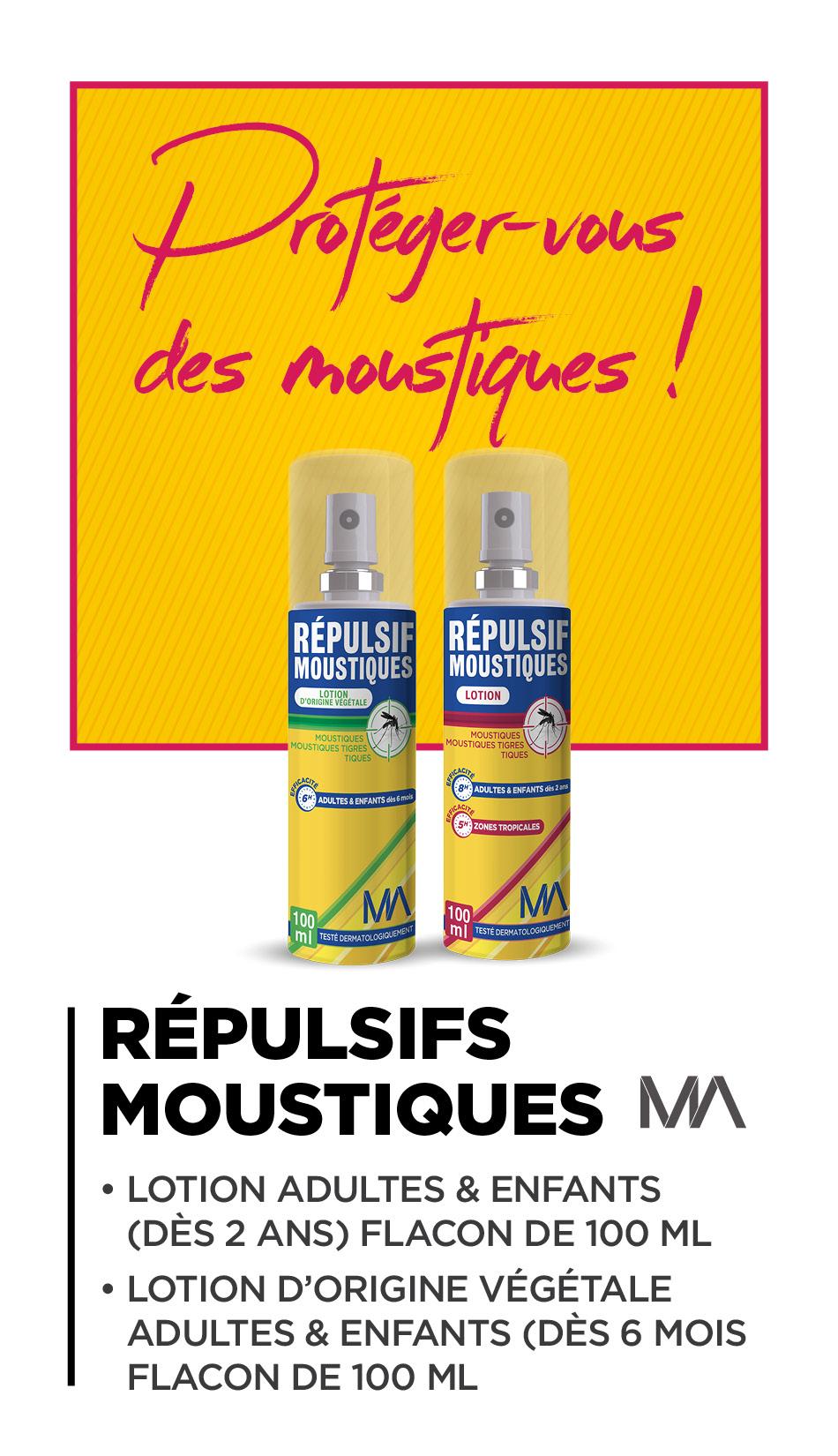 Répulsifs Moustiques