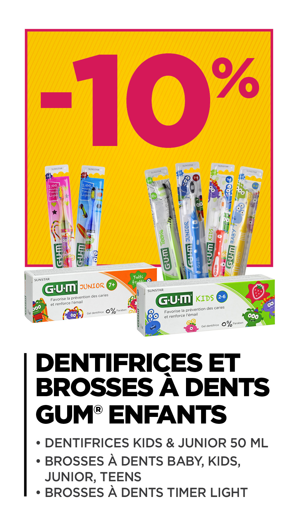 Dentifrices & Brosses à dents
