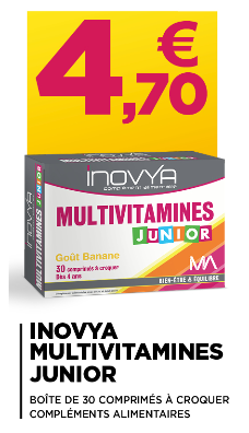 INOVYA MULTIVITAMINES JUNIOR